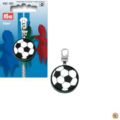 couleur : - Tirette fashion-zipper football, m…