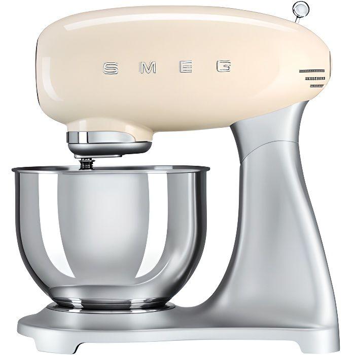 Robot sur socle crème SMEG SMF01CREU