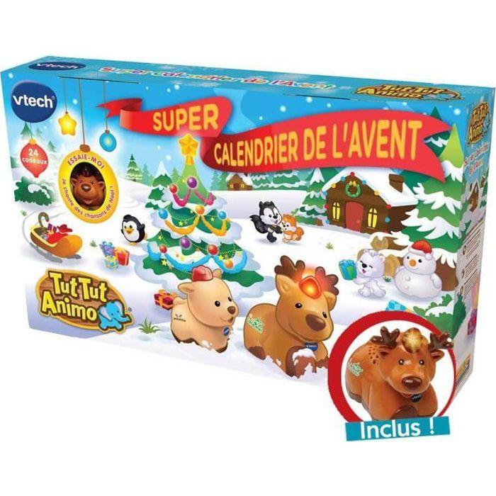 VTECH - TUT TUT ANIMO - Super Calendrier De L'Avent