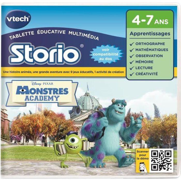 VTECH - Jeu Éducatif Storio - Monstres Academy