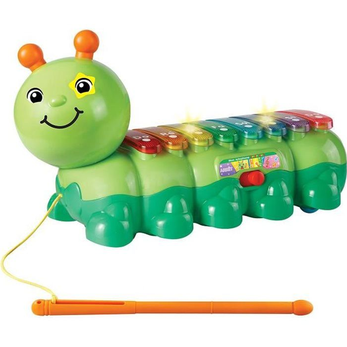 VTECH BABY - Jungle Rock - Xylophone Chenille - Jouet Musical Enfant
