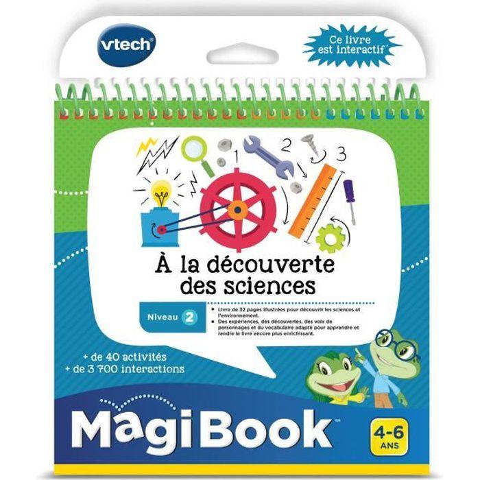VTECH - Livre Interactif Magibook - A La Découverte Des Sciences