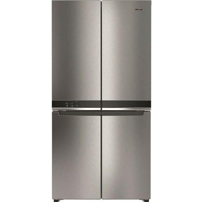 Réfrigérateur multi portes WHIRLPOOL WQ9E1L Inox
