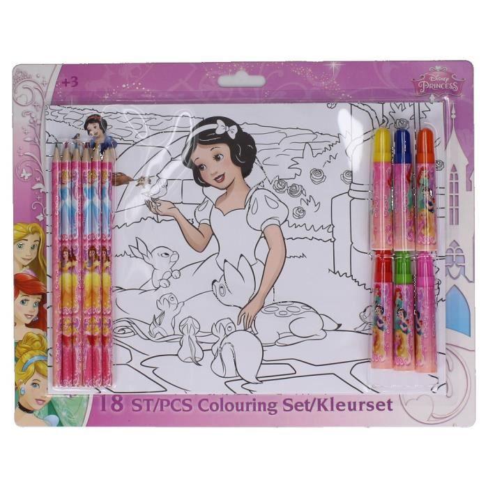 Coloriages princesses - Achat / Vente jeux et jouets pas chers