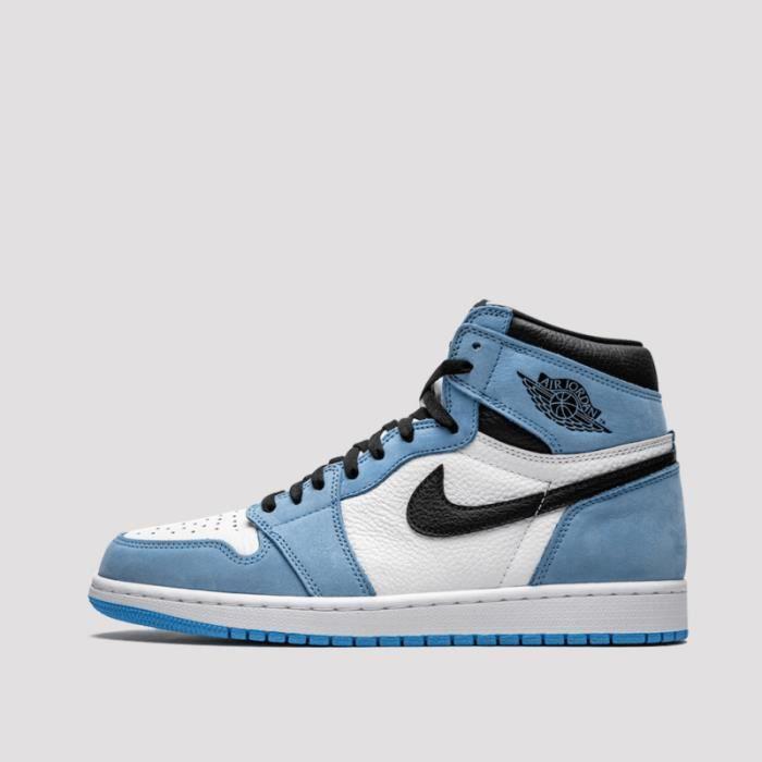Basket Air Jordan 1 University Blue 555088-134 Pour Hommes et ...