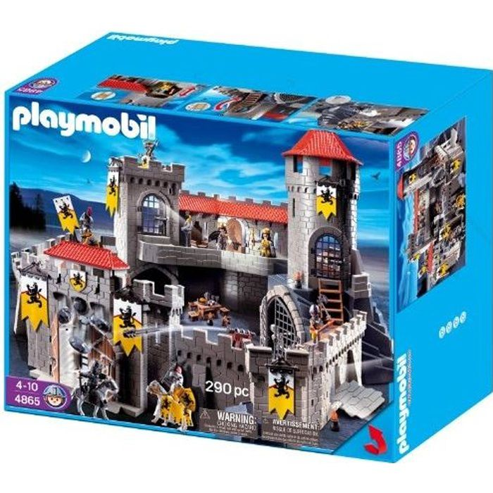UNIVERS MINIATURE PLAYMOBIL - 4865 - JEU DE CONSTRUCTION - CHÂTEA…