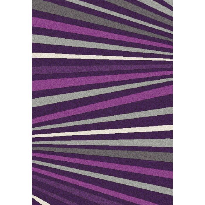 tapis salon wellness fashion violet ligne unive achat. Black Bedroom Furniture Sets. Home Design Ideas