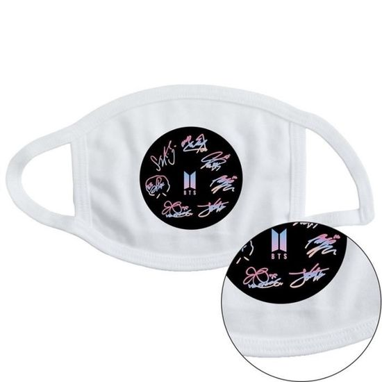 masque anti pollution drole