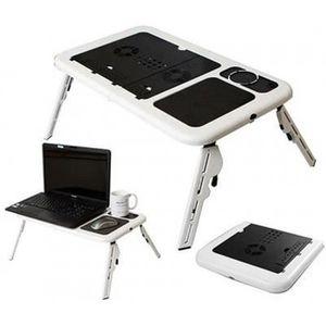 VENTILATION  Table avec refroidisseur pour PC portable Noir