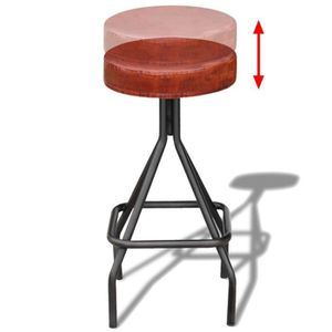 TABOURET DE BAR Tabourets Et Chaises De Bar Couleur Marron No