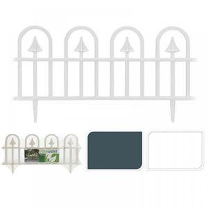 BORDURE 4 Barrière en plastique bordure côté de jardin pla