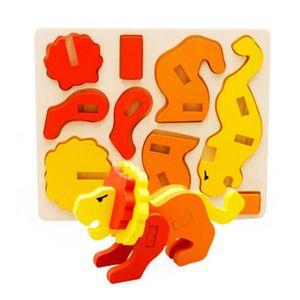 PUZZLE 3D Animal Tridimensionnel Puzzle Jouets éducatifs