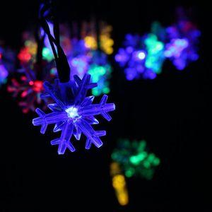 GUIRLANDE D'EXTÉRIEUR MULTICOLORE Guirlande lumineuse 6 M 30 LEDs forme
