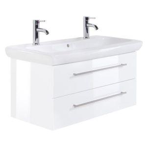Meuble salle de bain Keramag IT! 100 cm à double vasque ...