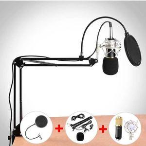 MICROPHONE TEMPSA BM800 Kit Microphone Condensateur Support S