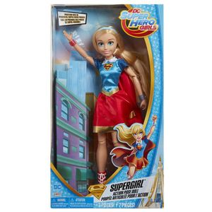 POUPÉE DC Comics Superhero Girls Supergirl Action Pose po