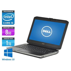 ORDINATEUR PORTABLE Pc portable Dell E5430 - Core i5-3320M - 8Go -1To