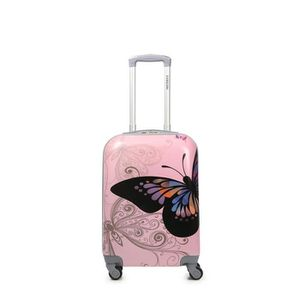 VALISE - BAGAGE Valise cabine rigide 55 cm Butterfly pink BUTTERFL