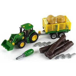 VOITURE - CAMION KLEIN - Tracteur à monter John Deere 6215R avec re