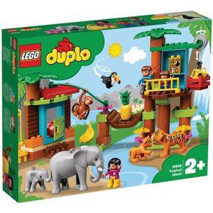 ASSEMBLAGE CONSTRUCTION LEGO® DUPLO® Ma ville 10906 L'île Tropicale