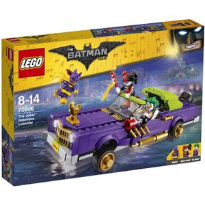 ASSEMBLAGE CONSTRUCTION LEGO® 70906 Batman Movie - La décapotable du Joker