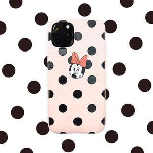 COQUE - BUMPER Coque iPhone 11,Disney Minnie Rose 1 Antichoc Prem