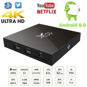 BOX MULTIMEDIA X96 TV Box Android 6.0 Marshmallow Amlogic S905X Q