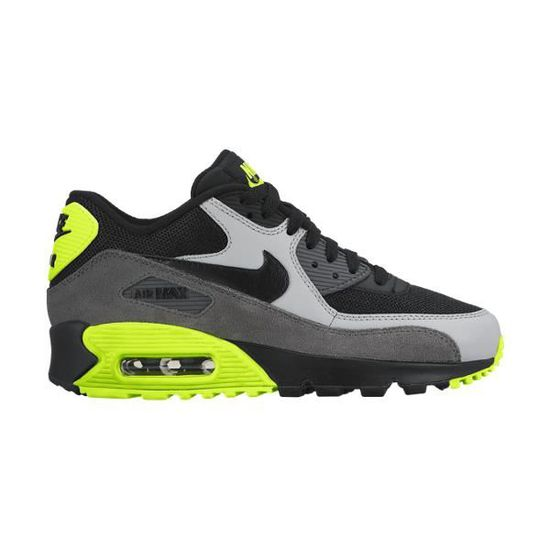 best website 503d0 9c398 NIKE AIR MAX 90 MESH GS Noir - Achat   Vente basket - Cdiscount