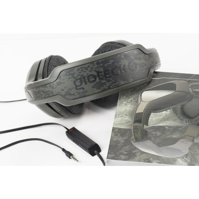 Casque Gaming avec micro pour Playstation 4 Ps4 Slim Ps4 Pro Xbox One Pc Nintendo Switch Hc2 plus Camo