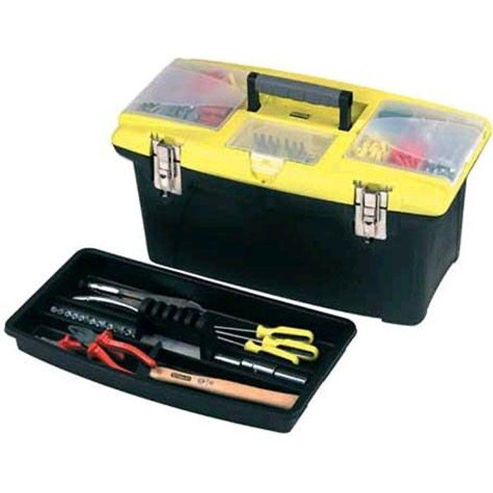 STANLEY Boite à outils vide Jumbo 19- 48cm