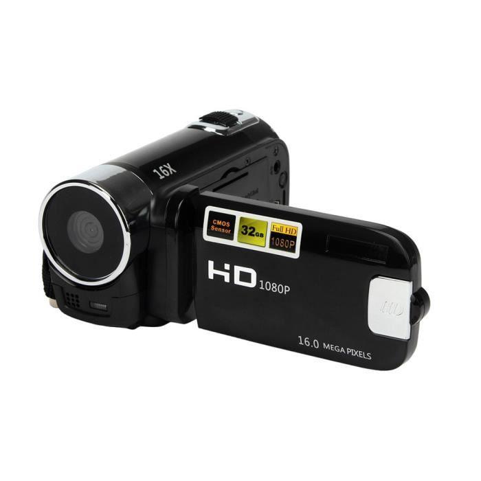 camescope numerique Caméscope Vidéo HD 1080P 16M 16X Zoom Numérique Caméscope DV Noir-61