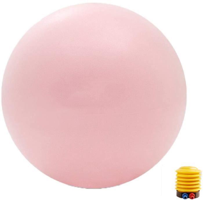 Anti-éclatement Swiss Ball 65cm, Ballon Grossesse, Ballon Gym, Ballon Pilates, Ballon Sport pour Entraînement Grossesse Equilibre Ch