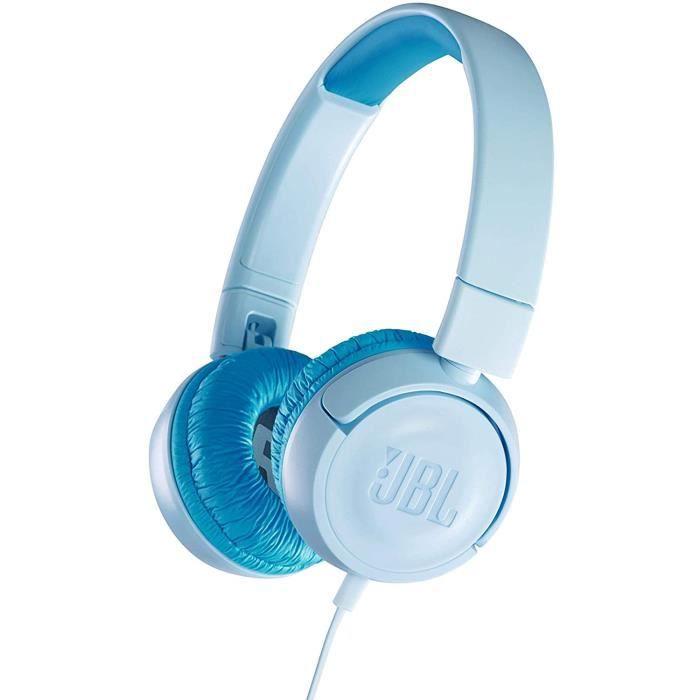 JBL JR300 – Casque Filaire pour Enfants – Avec Plafonnement de Volume Sonore