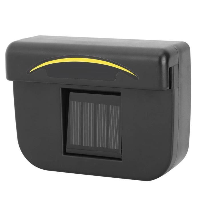 Solaire Auto Voiture Refroidisseur ABS Ventilateur de Ventilation Automobile Air Vent Échappement Chaleur Ventilateur avec Bande En