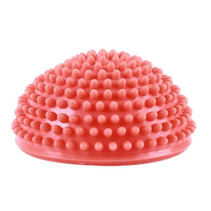 Demi sphère d'équilibre, pour yoga et massage, gonflable, en PVC,accessoires de fitness et pilates, équipement de sport, n AGE3516
