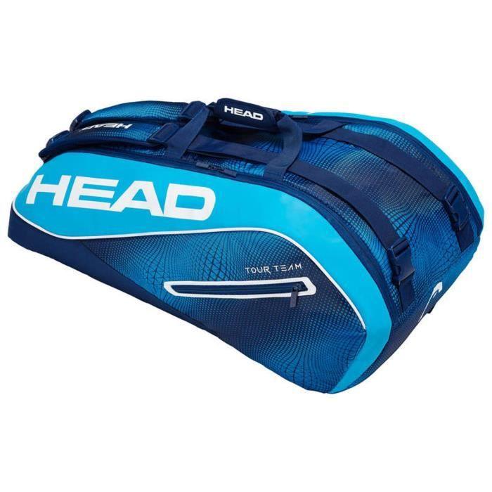 Thermobag Head Tour Team Supercombi 9R Blue - Couleur:Bleu Type Thermobag:9 raquettes