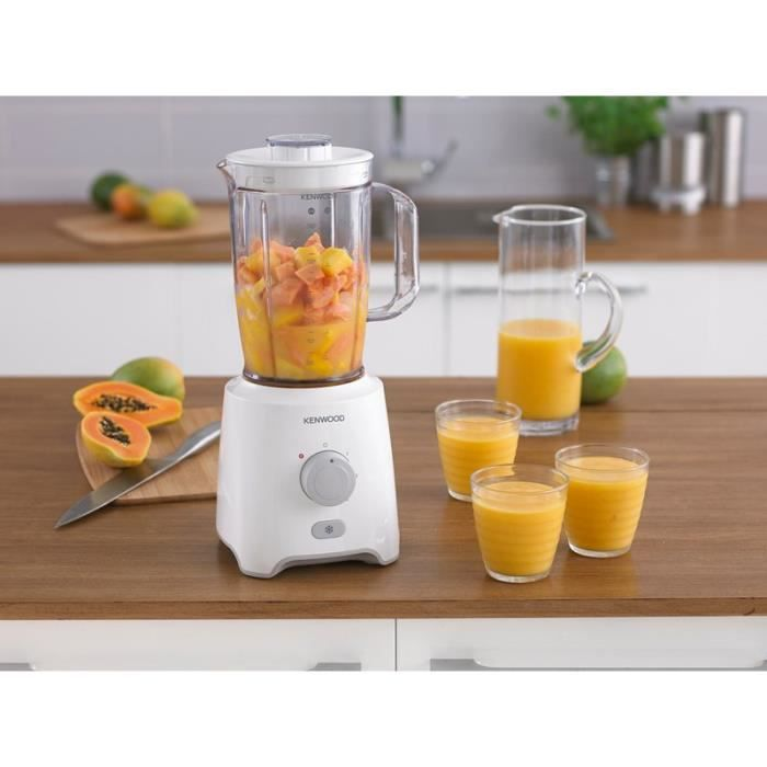 KENWOOD - Blender Blanc BLP400