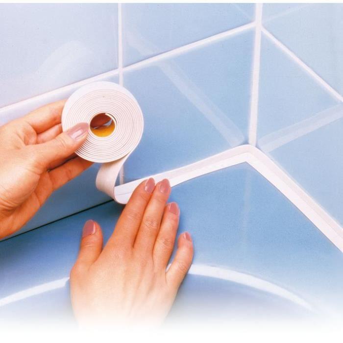 Ruban étanchéité pour salle de bain