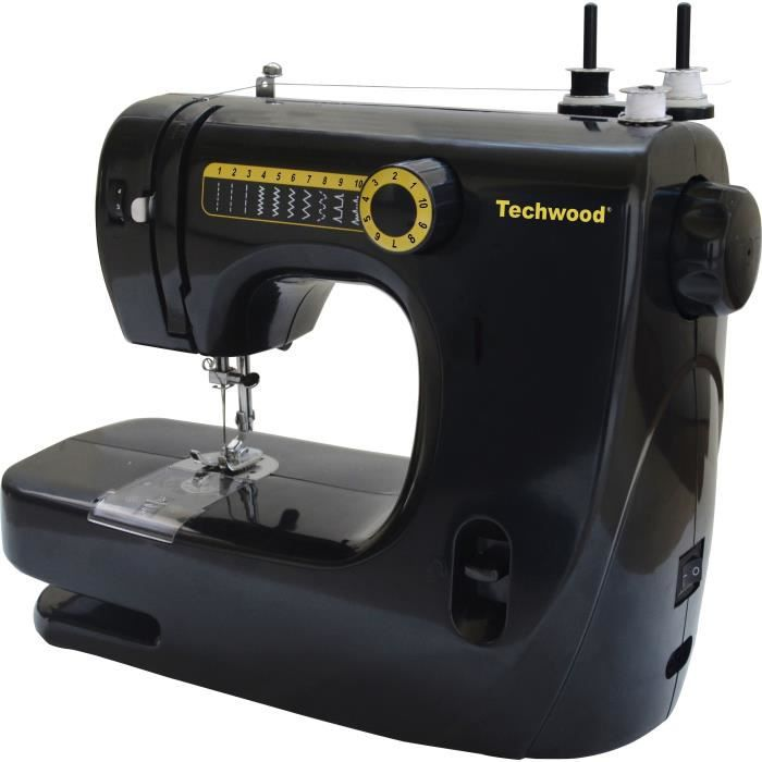TECHWOOD TMAC-906 Machine à coudre noir