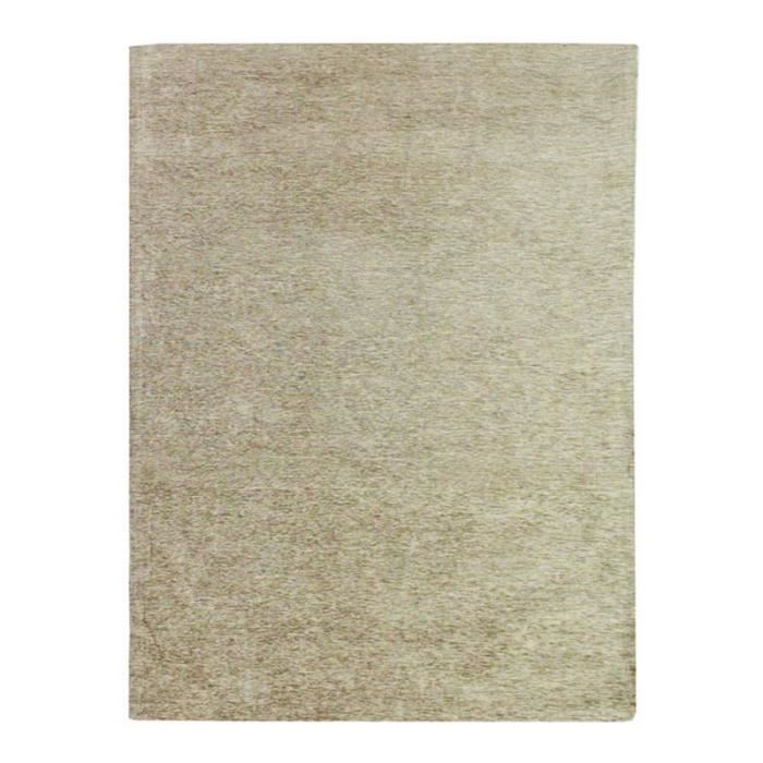 TAPIS INTENSE 190x290 chenille viscose sable