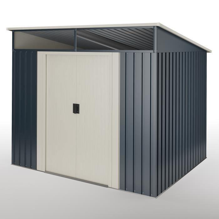Abri de jardin Wasabi Stark 5.6 m2 - Garantie 10 ans - 236x238x203cm