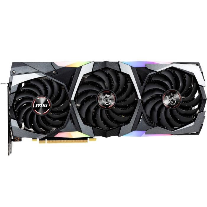 CARTE GRAPHIQUE INTERNE MSI RTX 2080 GAMING X TRIO Carte Graphique 1860MHz