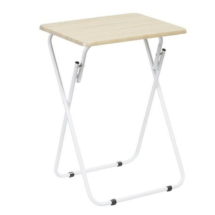 Mobilier table d appoint pliable achat vente table d - Table d appoint pliable ...