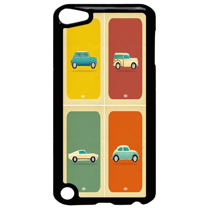 coque ipod touch 5 vieilles voitures vintage design. Black Bedroom Furniture Sets. Home Design Ideas