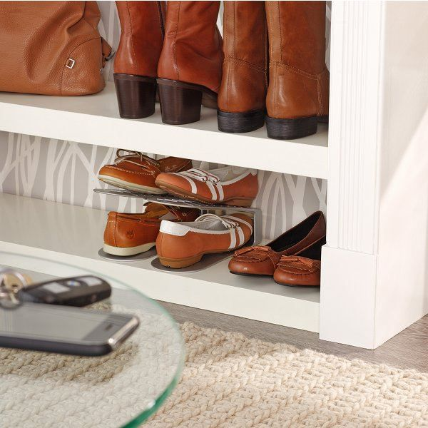 range chaussures gain de place gris achat vente meuble chaussures range chaussures gain. Black Bedroom Furniture Sets. Home Design Ideas