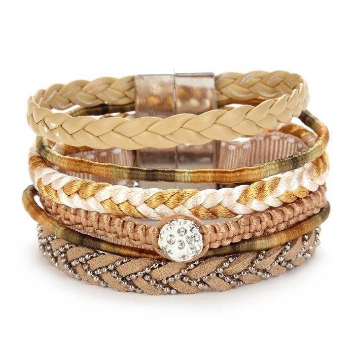 bracelet cuir la cabina