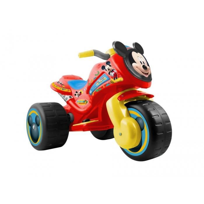 moto enfants 6v mickey achat vente moto scooter cdiscount. Black Bedroom Furniture Sets. Home Design Ideas