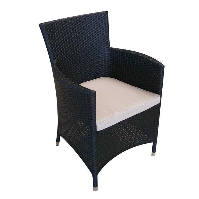 fauteuil en osier polypro dream garden achat vente chaise fauteuil jardin fauteuil en. Black Bedroom Furniture Sets. Home Design Ideas