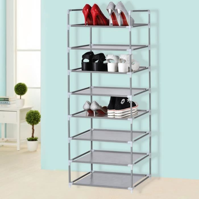 tag re chaussures meuble chaussures armoire chaussures 8 couches chaussures. Black Bedroom Furniture Sets. Home Design Ideas