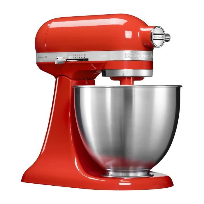 Photo de kitchenaid-mini-artisan-rouge-5ksm3311xeht